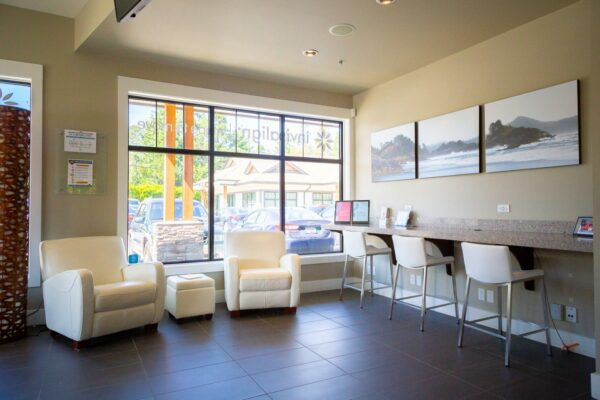 Office Interior Oceans Edge Orthodontics 2020 Nanaimo Canada Orthodontist 29 600x400 - Request An Appointment